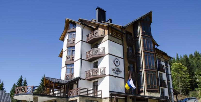 готель Chalet du Mont