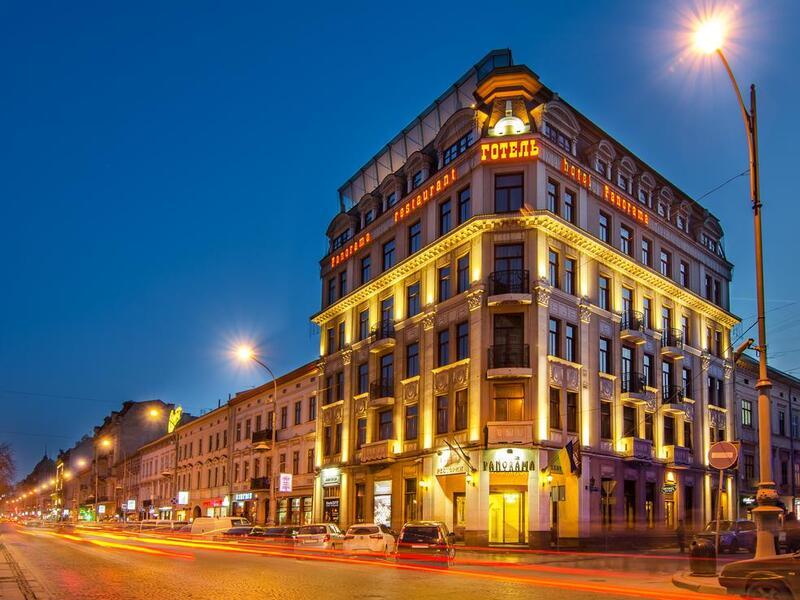 готель PANORAMA Lviv Hotel