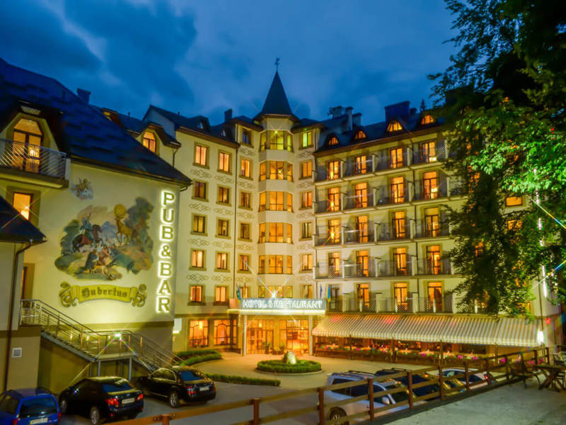 готель Romantik Spa Hotel