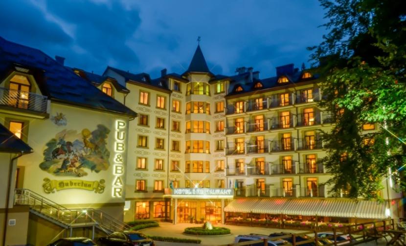 готель Romantik SPA Hotel