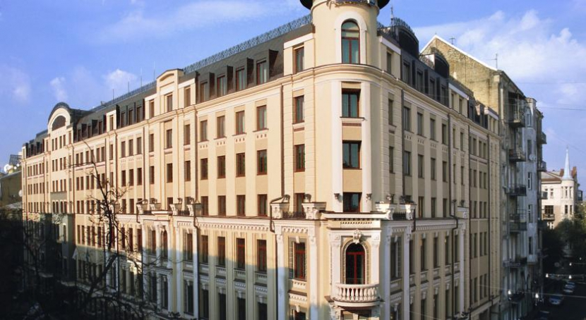 готель Radisson Blu Hotel Kyiv