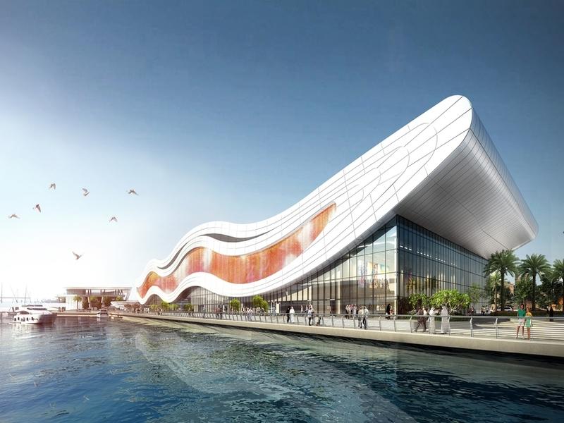 Новий акваріум в Абу-Дабі