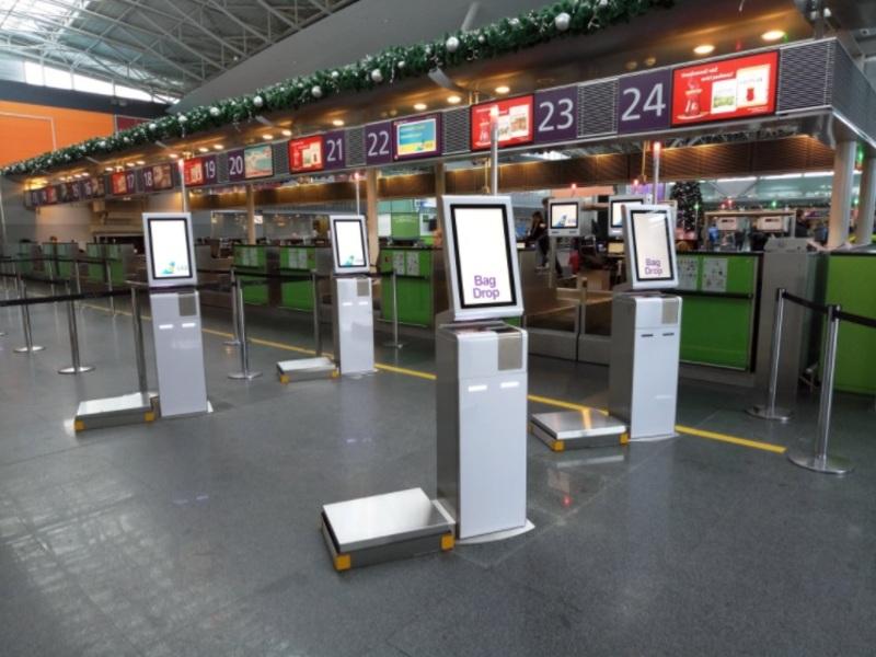 Тепер пасажири Борисполя самостійного можуть здати свій багаж