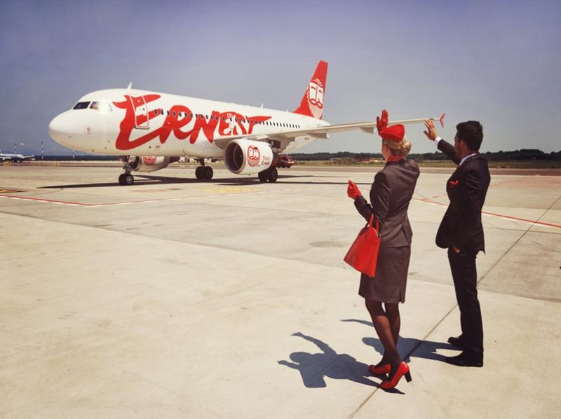 Все про італійський лоукост Ernest Airlines