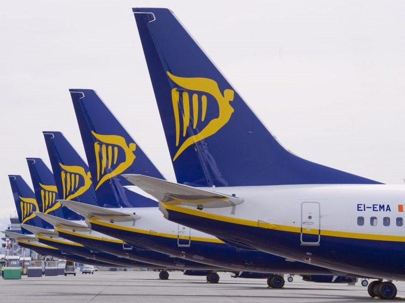 4-нові рейси від Ryanair