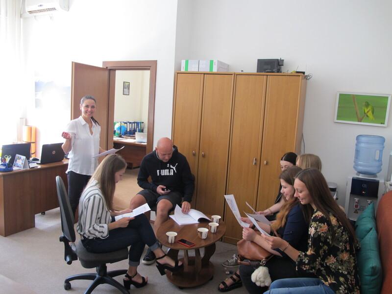 Зустріч зі студентами в рамках дуальної освіти