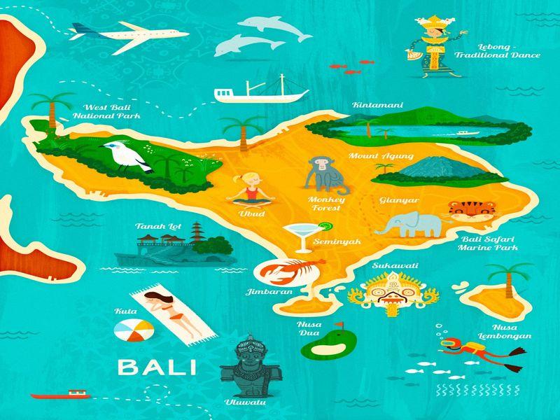 Необхідність отримання візи на о. Балі